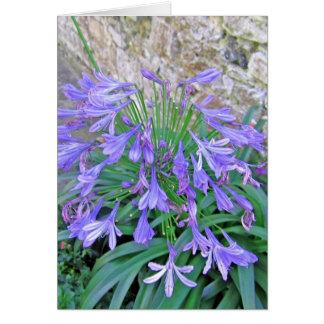 Bluebellの花 カード