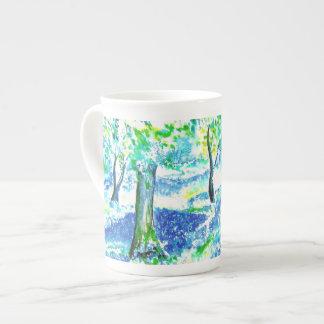 Bluebell木 ボーンチャイナカップ