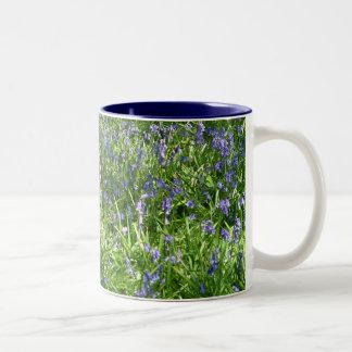 Bluebells |のマグ ツートーンマグカップ