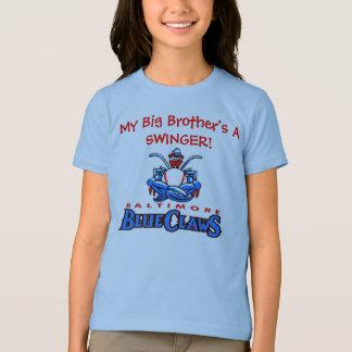 BlueClawsの兄弟姉妹のTシャツ Tシャツ
