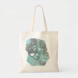 BlueFallの抽象的なフラクタルデザイン トートバッグ