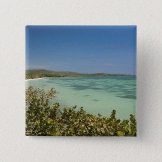 Bluefieldsのジャマイカの南西海岸 5.1cm 正方形バッジ