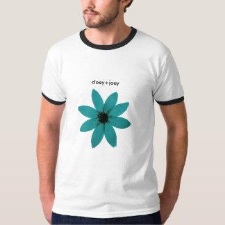 blueflower、cloey+joey tシャツ