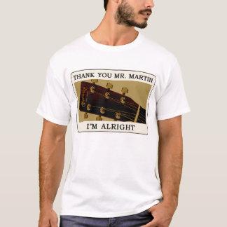 BluegrassのギターのTシャツ-マーティン氏ありがとう。 Tシャツ