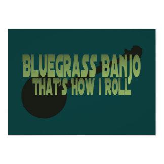 Bluegrassのバンジョー。 それは私がいかに転がるかです カード