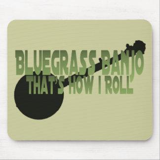 Bluegrassのバンジョー。 それは私がいかに転がるかです マウスパッド