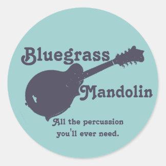 Bluegrassのマンドリン-あなたが必要とするすべての打楽器 ラウンドシール