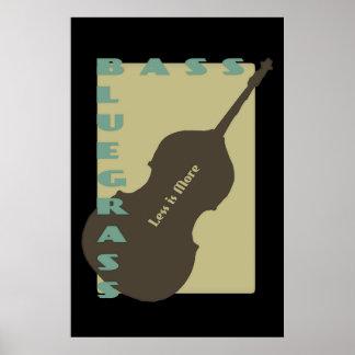 Bluegrassの低音: より少しは多くです ポスター