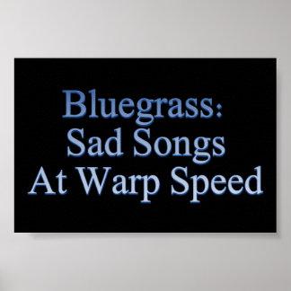 Bluegrass: ゆがみの速度の悲しい歌 ポスター