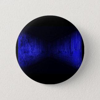 bluehorizon -電子回路板 5.7cm 丸型バッジ
