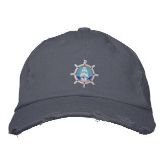 Bluejacketeerの球の帽子 刺繍入りキャップ