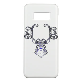 Bluenoserの青い鼻のトナカイのシカの電話箱 Case-Mate Samsung Galaxy S8ケース