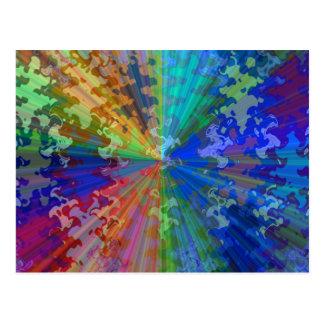 Bluerayスペクトル: 円の輝きのブレーカ ポストカード