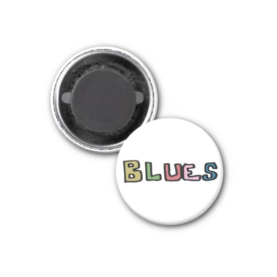 BLUES マグネット