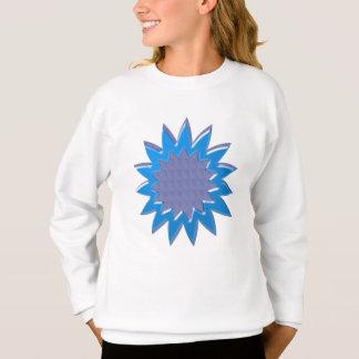 BlueSTARのスーパースター: すべての行事のためのエレガントなギフト スウェットシャツ