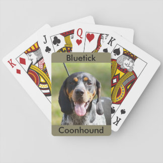 BluetickのCoonhoundのトランプ トランプ