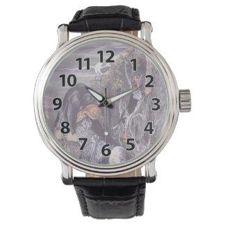 BluetickのCoonhoundの子犬の夢みる人の腕時計 腕時計