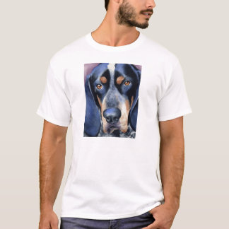 BluetickのCoonhoundのTシャツ Tシャツ