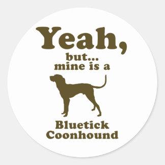 BluetickのCoonhound ラウンドシール