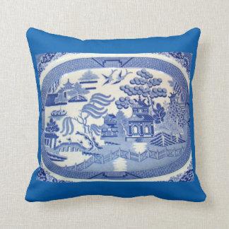 BlueWillowの装飾用クッションはデザインの歴史の家を持って来ます クッション