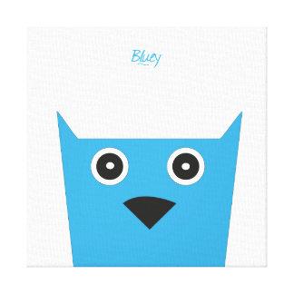 Blueyのキャンバス キャンバスプリント