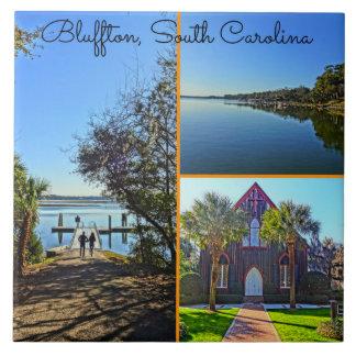 BlufftonサウスカロライナLowcountryのコラージュ タイル
