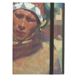 BlumenscheinのTaosの天然アメリカインディアンのポートレート iPad Airケース