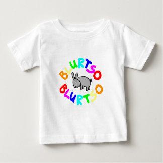 blurtsoのロゴの数々のな色 ベビーTシャツ