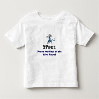 Bluzのパトロールの幼児のワイシャツ トドラーTシャツ