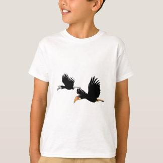Blythのミナミジサイチョウの鳥-本当愛の記号 Tシャツ