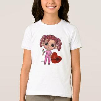 Blytheの世界のバレンタイン-子供のTシャツ Tシャツ