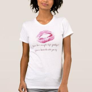 BMは、独身のな生命にさようなら接吻します! Jessのbache… Tシャツ