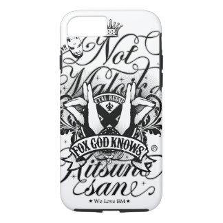 BM (白いver。)へのすべての私の愛 iPhone 8/7ケース