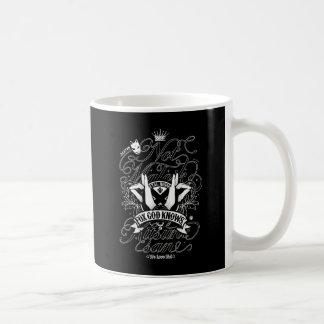 BM (Blkのver。)へのすべての私の愛 コーヒーマグカップ