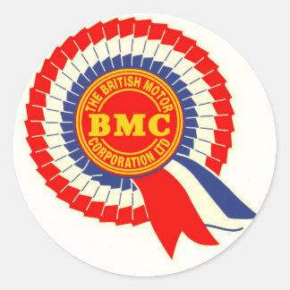 BMCのロゼットのステッカー ラウンドシール