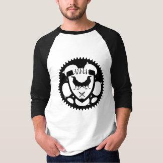 BMOREの乗組員の野球のワイシャツ Tシャツ