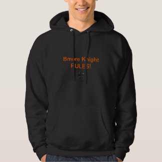 Bmoreの騎士挑戦者のフード付きスウェットシャツ パーカ
