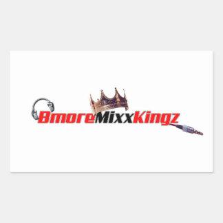 Bmore Mixx Kingzのステッカー 長方形シール