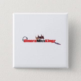 Bmore Mixx Kingzボタン 5.1cm 正方形バッジ
