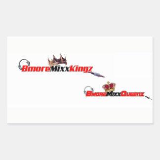 Bmore Mixx Kingz/Queenz 長方形シール