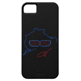 BMWの腎臓のグリル/Nurburgringの版(黒) iPhone SE/5/5s ケース