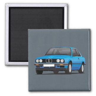 BMW E30 (3-serie)の青 マグネット