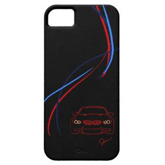 BMW M3はiPhone5穹窖の箱を縞で飾ります iPhone SE/5/5s ケース