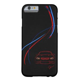BMW M3はiPhone6ケースを縞で飾ります Barely There iPhone 6 ケース