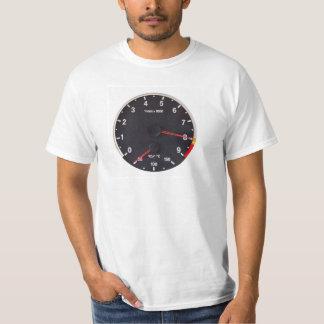 BMW M3 M5の回転速度計のTシャツ Tシャツ