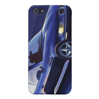 BMW Z3のクーペのイラストレーション iPhone SE/5/5sケース