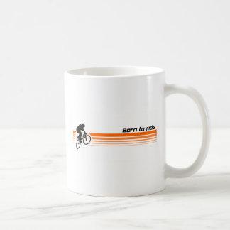 - BMXに乗るために生まれて下さい コーヒーマグカップ