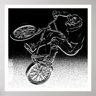 BMXのゆがみ、版権カレンJ WilliamsBMX ポスター