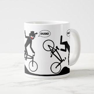 BMXのジャンボマグ2 ジャンボコーヒーマグカップ