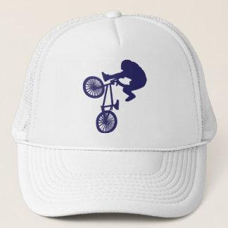 BMXのバイクもしくは自転車に乗る人 キャップ